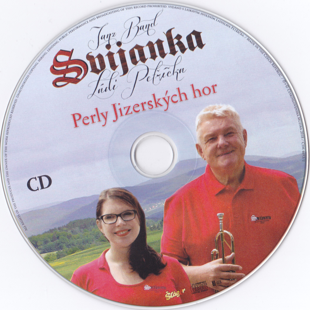 Nové CD a DVD Svijanka Ládi Petříčka. Perly Jizerských hor vydala TV ŠLAGR - České Budějovice